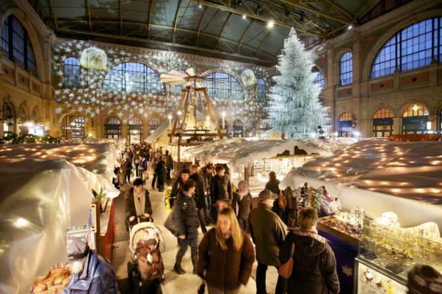 Mercatini di Natale Svizzera Zurigo