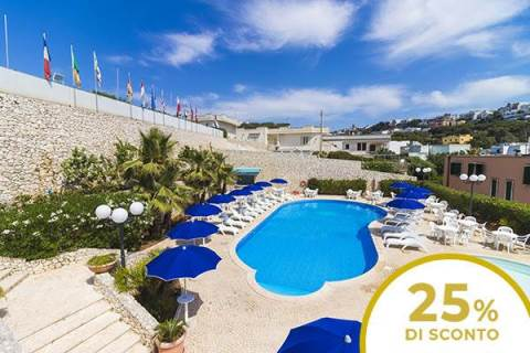 Hotel Panoramico Offer – Castro (LE) | 25% discount on your holiday