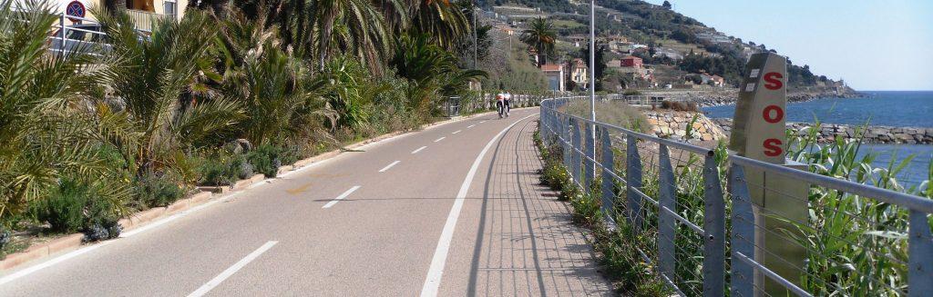 liguria turismo - pista ciclabile