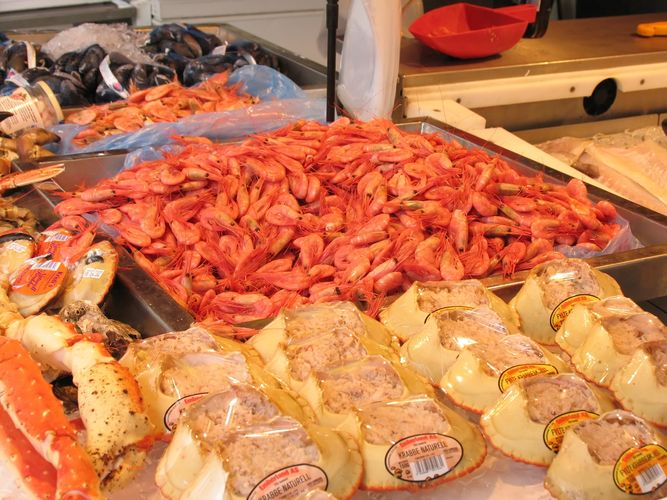 Mercato del pesce Bergen