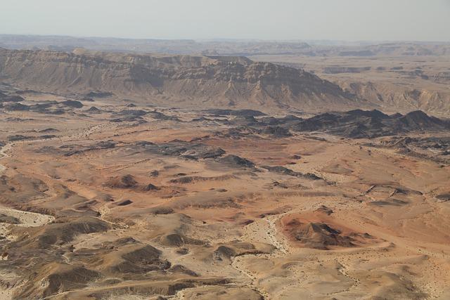 israele dalle città al deserto