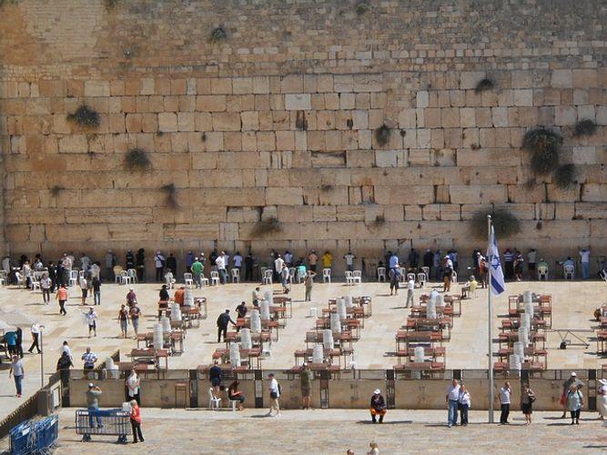 israele il muro del pianto